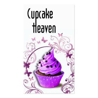 Pasteles de los postres de los dulces del cielo d tarjeta de visita