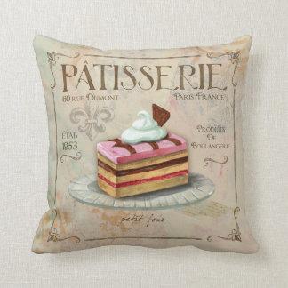 Pastelito francés de la decoración de la almohada