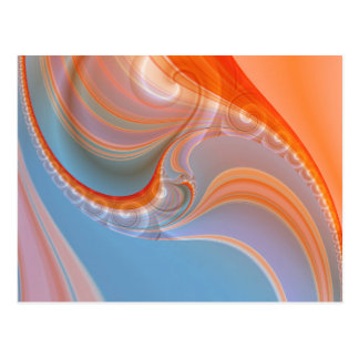 pastell abstracto creado por Tutti Postal