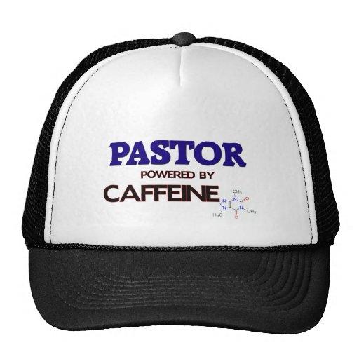 Pastor accionado por el cafeína gorras de camionero