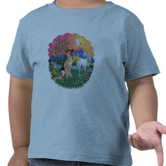 Pastor alemán #1 camisetas