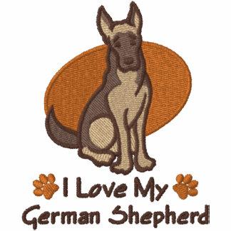 Pastor alemán del amor