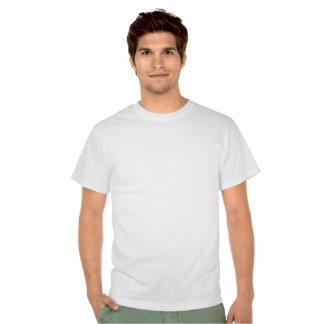 Pastor de estándar con eslogan camisetas