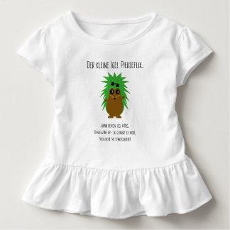 Pastor de volante con poema de erizo camiseta de bebé
