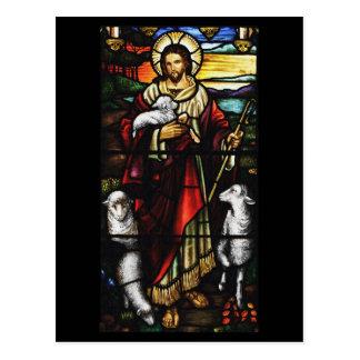 Pastor y sus ovejas StJohnsAshfiel Postal