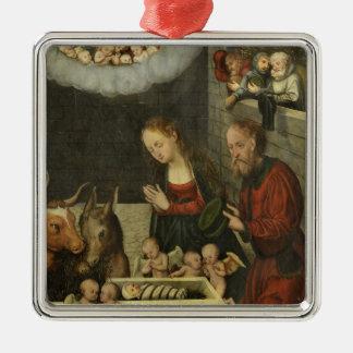 Pastores que adoran al bebé Jesús por Cranach Adorno De Cerámica