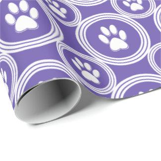 Pata-para-Dando el papel de regalo (violeta)