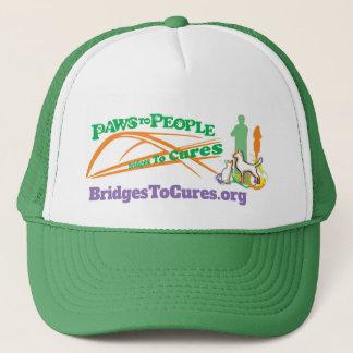 Patas al gorra de la gente
