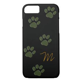 patas del perro personalizadas funda iPhone 7
