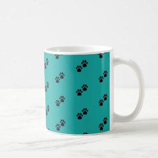 Patas del perro taza de café
