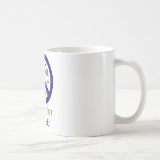 Patas para la paz (marina de guerra) taza