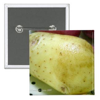Patata del oro del Yukón Chapa Cuadrada