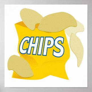 patatas fritas póster