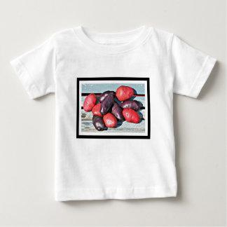 patatas rojas y púrpuras camiseta de bebé