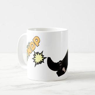 Patee el NDP: Taza de café