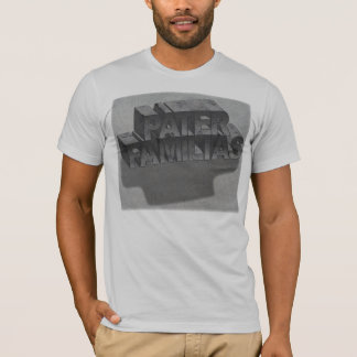 pater_Familias_fondo Camiseta