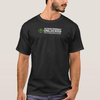 Paternidad abierta logro camiseta