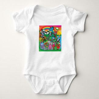 Patín, sueño, vivo body para bebé