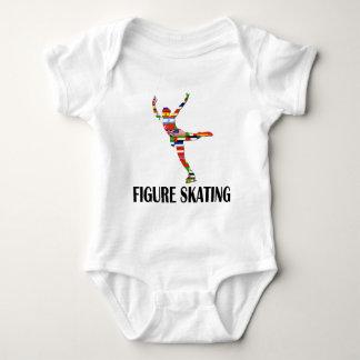 Patinaje artístico body para bebé