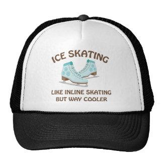 Patinaje de hielo gorra