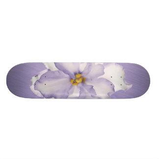 Patines Orquídea hermosa de la lavanda