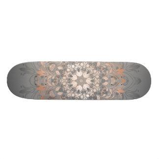 Patines Personalizados Mandala floral del oro color de rosa