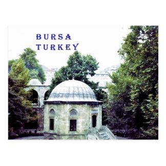 Patio de seda del bazar en Bursa Postal