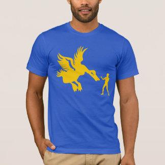 Pato clasificado caballo camiseta