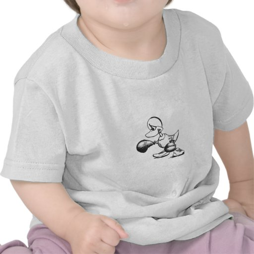 Pato del boxeo - pluma camiseta