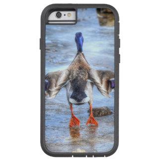 Pato del pato silvestre del invierno que saca funda de iPhone 6 tough xtreme