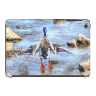 Pato del pato silvestre del invierno que saca funda para iPad mini retina