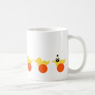 Pato Shirt gif Tazas De Café