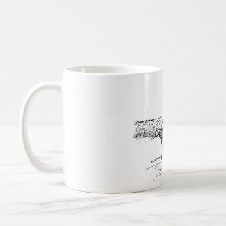Patos del aterrizaje taza de café