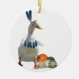 Patos del indio de la acción de gracias ornamentos de reyes magos