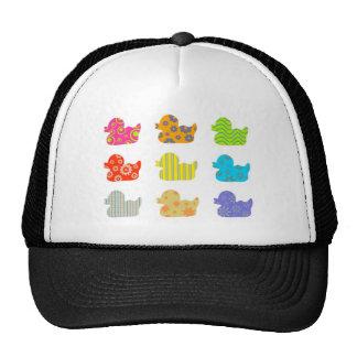 Patos modelados gorras