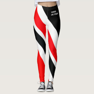 PATRIOTA BLANCO Y NEGRO ROJO DE T&T LEGGINGS