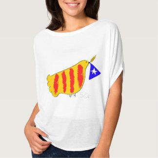 Patriotic Symbol, Catalonia freedom dove. Camisetas