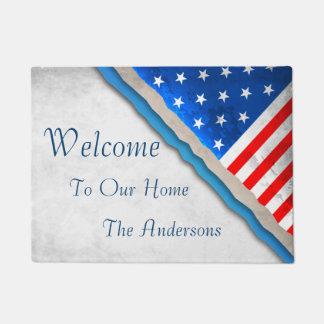 Patriótico - recepción a nuestro hogar
