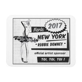 Patrocinador oficial 2017 del artista - imán