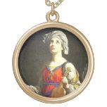 Patrón de Cecilia del santo del collar de los
