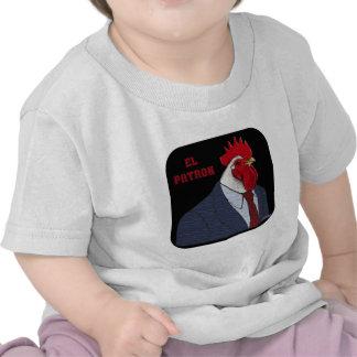 Patrón del EL Gallo Camiseta