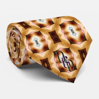 Patrón oro corbatas personalizadas