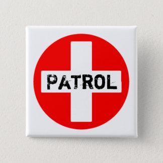 Patrulla - botón