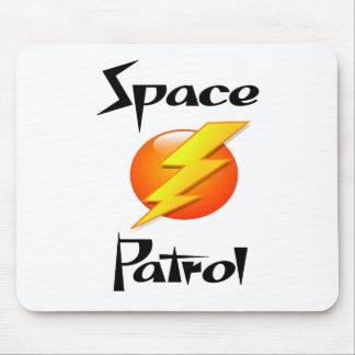 patrulla del espacio alfombrilla de ratón