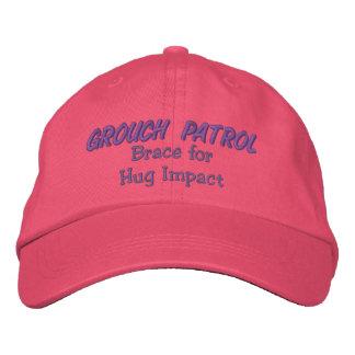 Patrulla del Grouch - apoyo para el impacto del ab Gorros Bordados