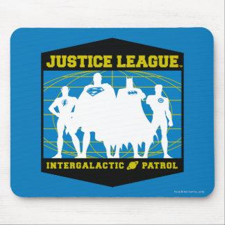 Patrulla intergaláctica de la liga de justicia alfombrilla de ratón