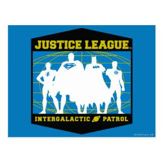Patrulla intergaláctica de la liga de justicia postal