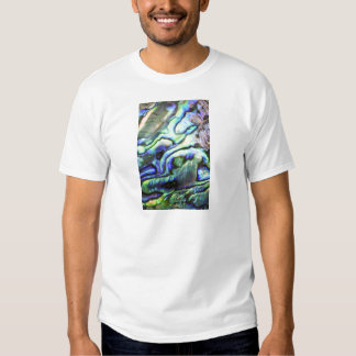 Paua azulverde de la cáscara del olmo camiseta
