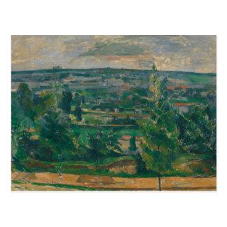 Paul Cezanne - ajardine de Jas de Bouffan Postal