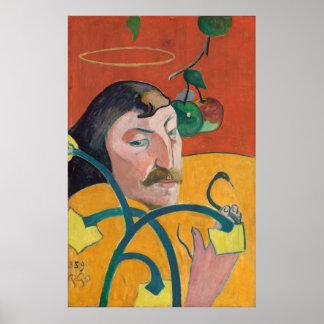 Paul Gauguin: Autorretrato, 1889 posters de